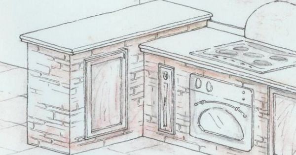 progetto cucina in muratura 3d cerca con google ideas for a new home pinterest 3d in and search
