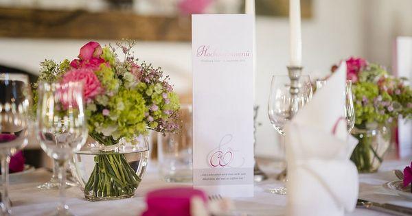 Tischdeko hochzeit pink gruen tischdeko wedding for Tischdeko pink