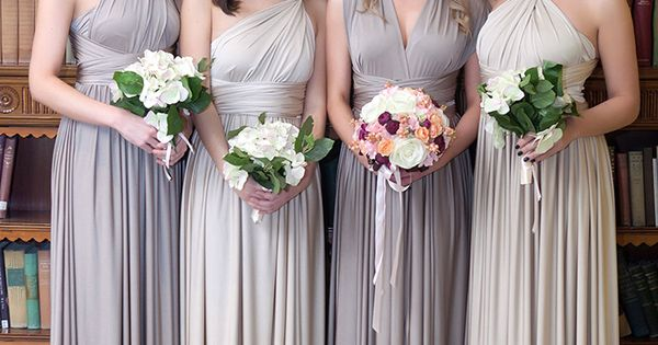 Eliza ethan multi wrap dresses neutral tones mix and for Off the rack wedding dresses melbourne