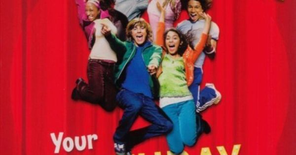 High School Musical Singing Giant 11 Square Birthday Card