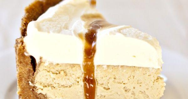 Salted Caramel Vanilla Cheesecake - Donna Hay