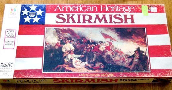 Milton Bradley Skirmish Board Game - American Heritage ...