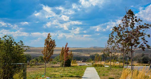 hiking biking trails in the idyllwilde neighborhood in
