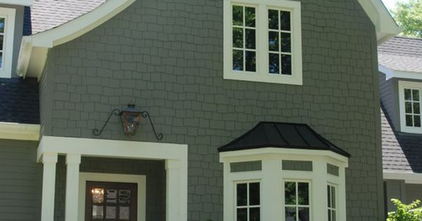 Benjamin Moore Amherst Gray With Black Shutters White Trim Curb Appeal Pinterest Front