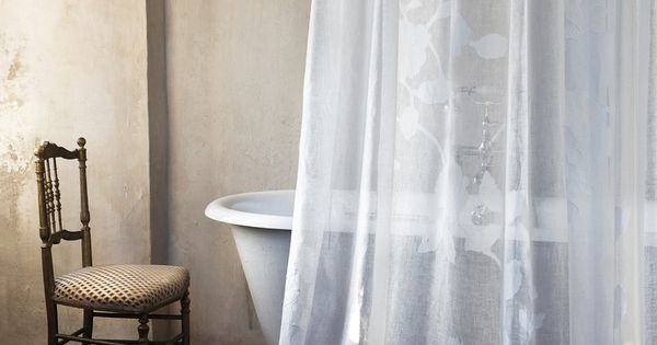 Bathroom Curtain For The Home Pinterest Deep Bathtub Clawfoot