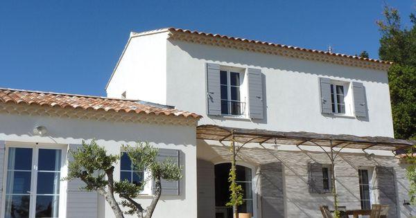 Maison simple avec d pendance attenante construction provence http www m for Construction maison simple