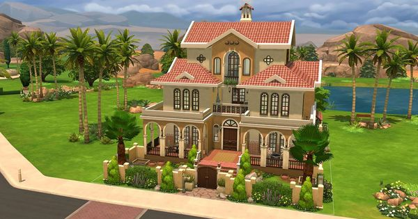 Download Casa Martina Sims Online Sims 4 House Building Sims Building Sims 4 House Design