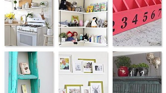 25 Fabulous Shelving Ideas There is never enough storage and places to