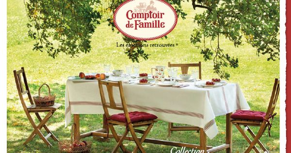 repas dans le jardin comptoir de famille pinterest comptoir de famille comptoir et repas. Black Bedroom Furniture Sets. Home Design Ideas
