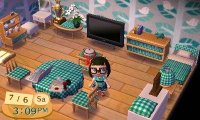 Love That Bedroom Alpine Pattern Cute Acnl Animal Crossing Animal Room Leaf Animals