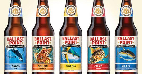 Ballast Point Bottles