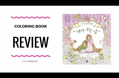 The Day We Finally Meet Coloring Book Review Kim Yu Jin Youtube Coloring Books Books Day