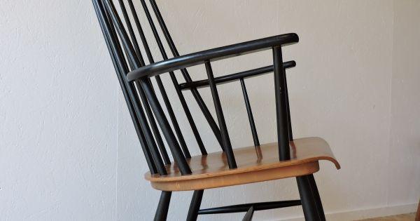 fauteuil bascule tapiovaara c te et vintage pinterest. Black Bedroom Furniture Sets. Home Design Ideas