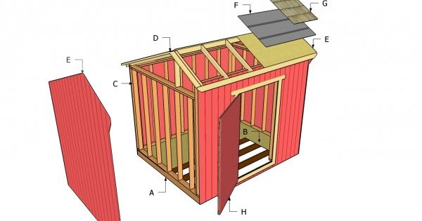 Free saltbox shed plans read more http myoutdoorplans for Free saltbox shed plans