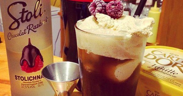 Drinks Using Chocolate Raspberry Vodka
