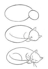 Pin Von Stacey Lauer Auf Dessiner Les Chats Malen Und Zeichnen Tierzeichnung Katze Zeichnen