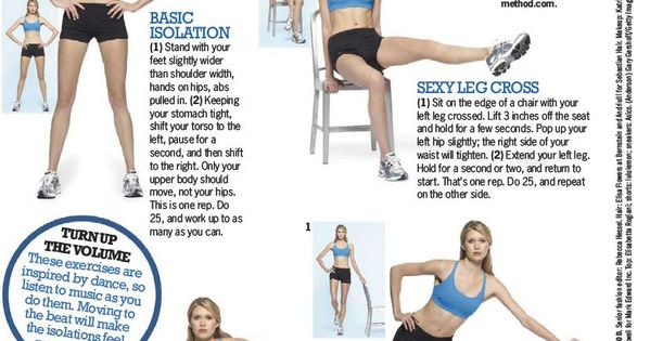 Best And Healthy Way To Weight Loss - more Tracy Anderson!