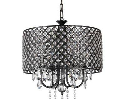 Albano 4 Light Crystal Chandelier