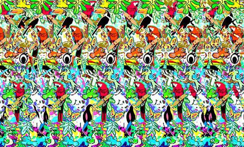 Magic Eye Love These They Are So Clever Magic Eyes Magic Eye Pictures Illusions