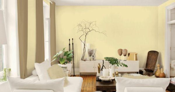 farbpalette wandfarben wohnzimmer w nde streichen gelb. Black Bedroom Furniture Sets. Home Design Ideas