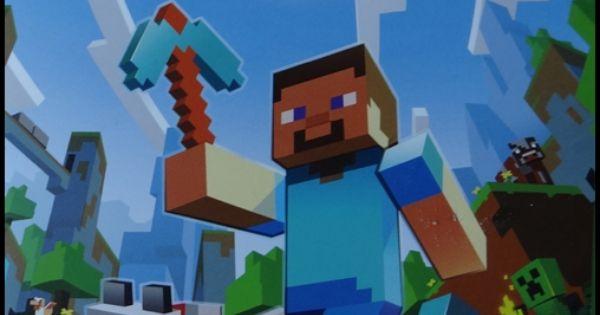Tipps und ideen f r eine kindergeburtstag minecraft for Minecraft dekoration