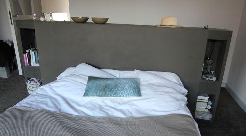Tete De Lit Sous Pente Chambre A Coucher Parentale Tete De Lit Avec Rangement Tete De Lit Design
