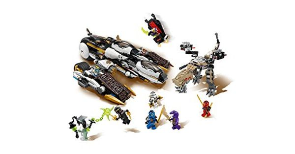 Lego Ninjago 70595 Ultra Tarnkappen Fahrzeug Amazon De Spielzeug Lego Ninjago Lego Spielzeug