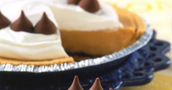 Kiss pies, Hershey's kisses and Peanut butter on Pinterest