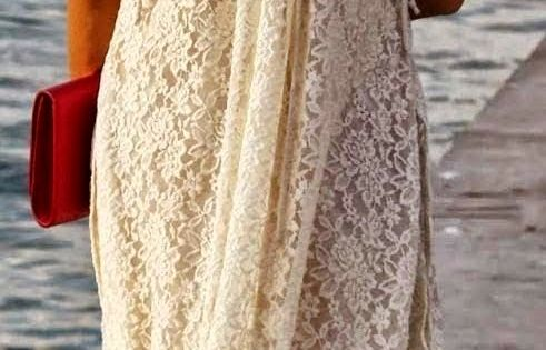 White lace beach dress. beach lace beauty Free People white lace overlay