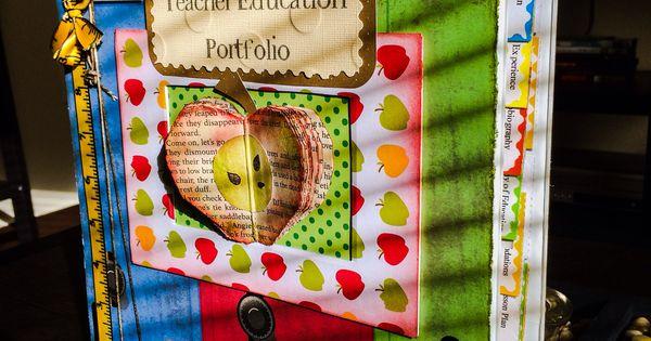 Classroom Design In Preschool ~ Teacher portfolio cover classroom references pinterest
