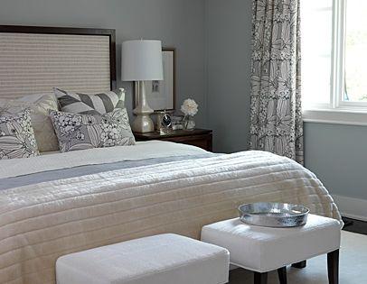 Sarah Richardson Design - bedrooms - ICI Dulux - Universal Grey -