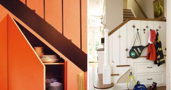 Am nagez des rangements en dessous de l escalier pat res rangements et stockage d 39 escalier - Amenager une cage d escalier ...