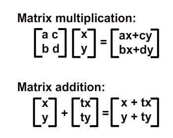 Understanding Affine Transformations With Matrix Mathematics Matrices Math Mathematics Matrix Multiplication