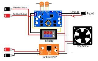 Diy Variable Power Supply With Adjustable Voltage And Current Computer Power Supplies Electronics Projects Diy Power Supply