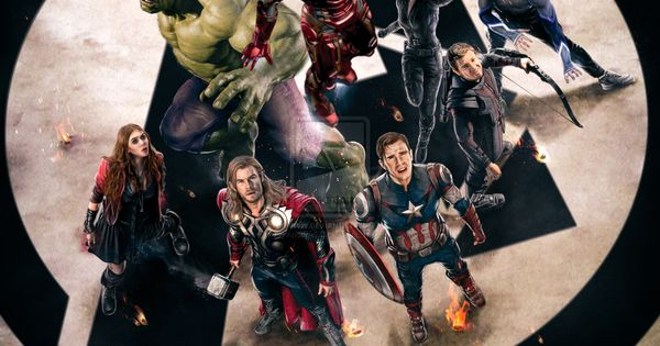 Avengers Age Of Ultron By Iloegbunam On Deviantart: ''The Avengers: Age Of Ultron'' Poster By AndrewSS7