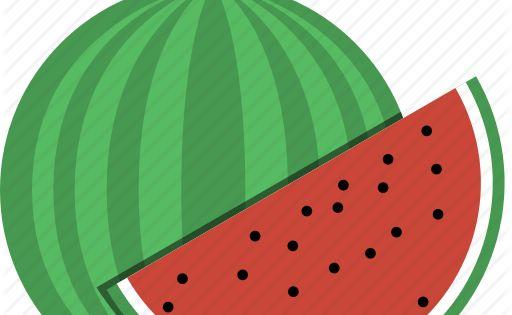 Piece Watermelon Slice Icon Download On Iconfinder Cartoon Styles Watermelon Pieces