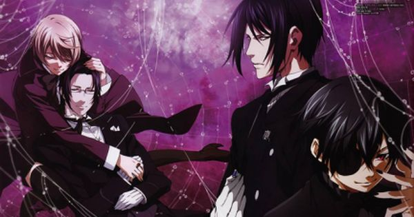 Anime Wallpaper Oohapp Anime Top Wallpaper Pinterest Black Butler Black Butler Kuroshitsuji And Butler