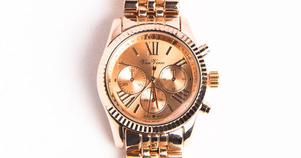 Rose Gold Watch, LOVE!