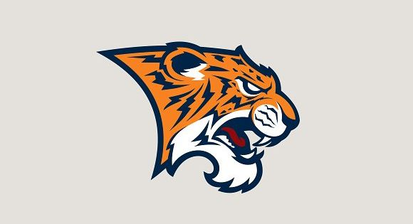 Tiger sport logotype – strong and bold