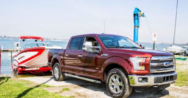 ford f 150 proves its towing capabilities ford f150 ford trucks ford pinterest