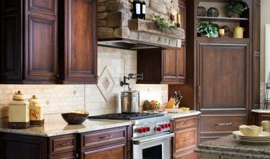What A Brilliant Mix Of Materials In This Rustic Kitchen. The Stone
