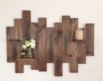 Decorate Your Wall With These Beautiful Wooden Wall Art In 2020 Wood Pallet Wall Decor Wooden Wall Decor Wood Pallet Wall Art