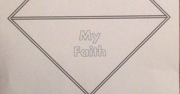 a worksheet for your girl scout to fill out and color for the my faith my promise pin award. Black Bedroom Furniture Sets. Home Design Ideas