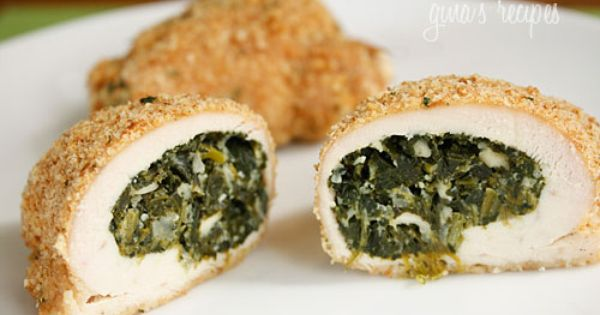 Skinnytaste Spinach and Feta Stuffed Chicken food Great Food yummy food| http://scrapbook2795.blogspot.com