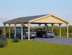Wooden Carport Double 20 X 20 Wooden Carports Carport Wooden Garage