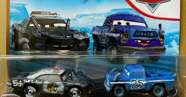 #25 CARS/_3 DISNEY PIXAR CARS HTF THUNDER HOLLOW BROADSIDE