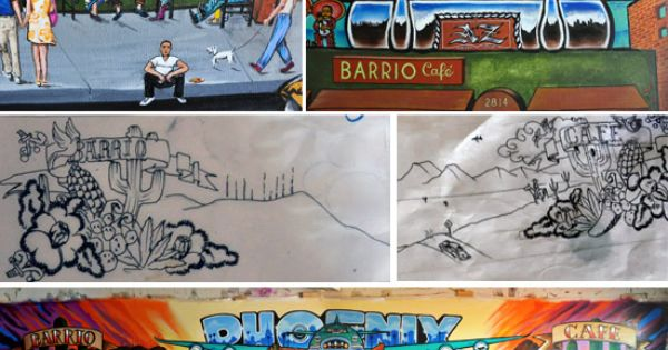 My fave phx restaurant calle 16 mural project heads to for Calle 16 mural project