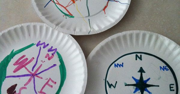 compass crafts for kids - Google Search | Easy Fast Craft ...