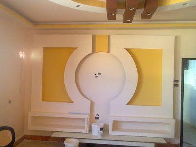 Home Decor Handmade Gypsum Board Tv Units Before And After Ceiling Design False Ceiling Design Brick Interior Wall