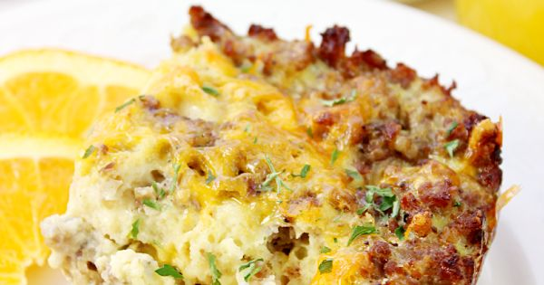 Sausage Egg & Waffle Breakfast Casserole | Breakfast Casserole ...
